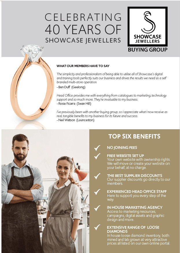 Top 6 Benefits To Join Showcase Jewellers