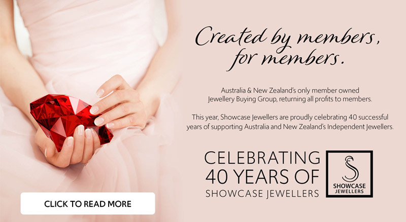 Celebrating Anniversary Of Showcase Jewellers