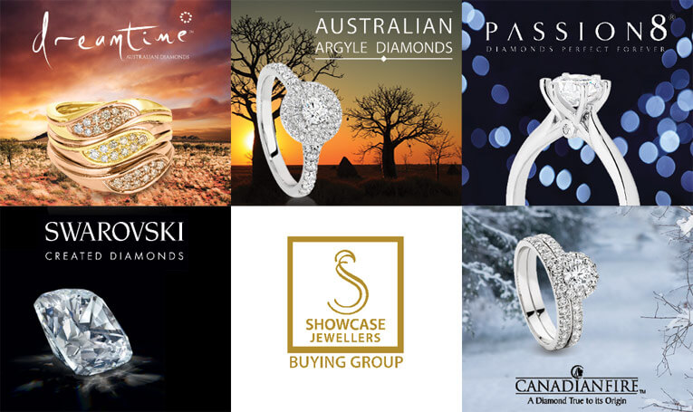 Brands Available At Showcase Jewellers