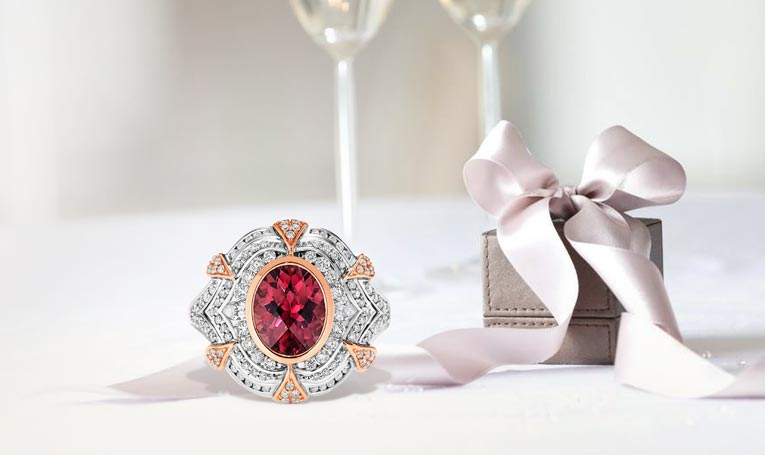 Ruby Birthstone Rings Collection At Showcase Jewellers