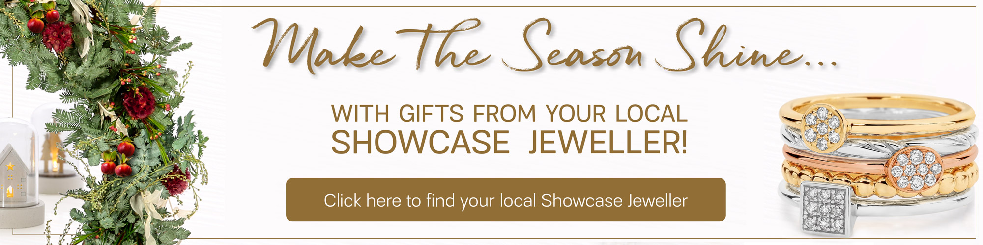 Shop Christmas Gifts From Local Showcase Jeweller